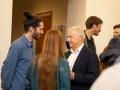 TIAG-Vorstand Bouvier im Gespräch mit den Künstlern