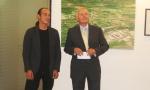 Rene Fadinger (Künstler) und Alexander Bouvier (Treibacher Industrie AG)