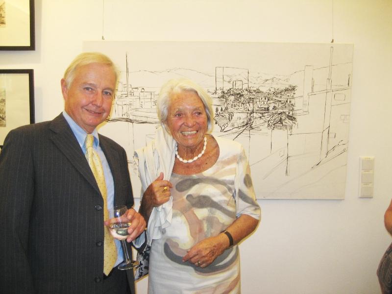 Alexander Bouvier und Ilse Mayr